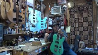 Thin The Herd Guitars TBass DEMO by Scott of Birdsong Guitars