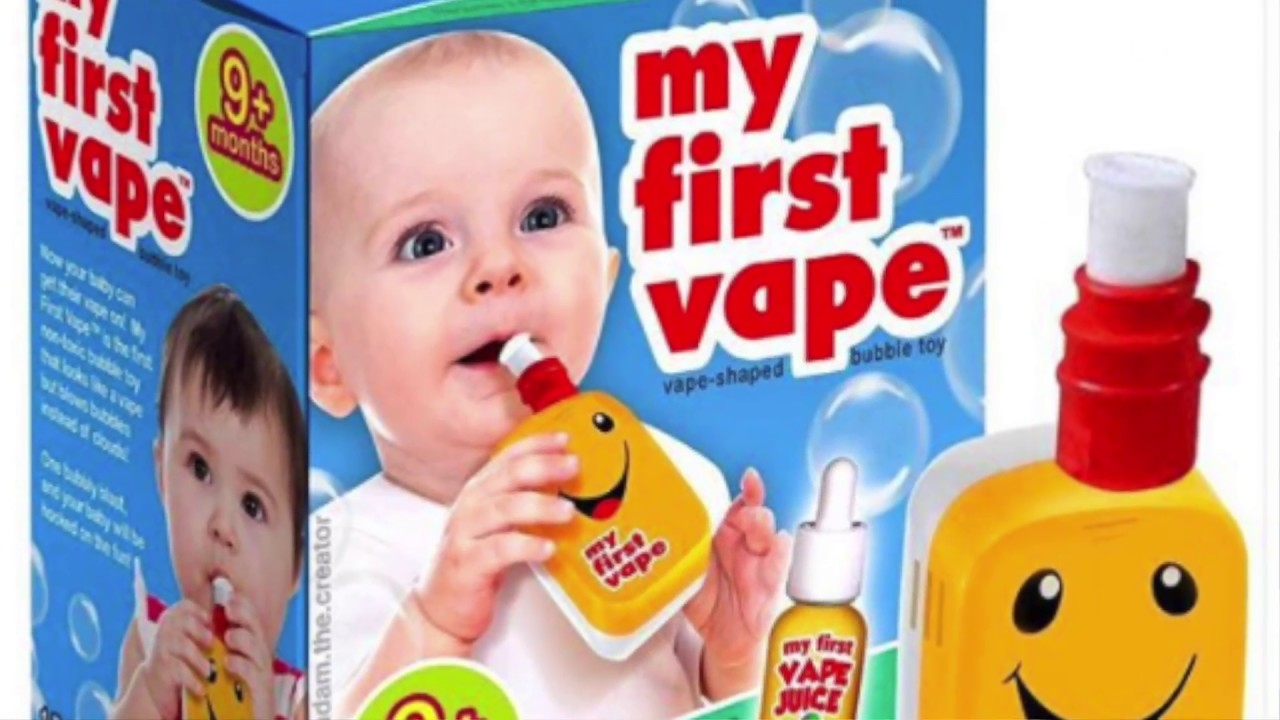 The Story Behind The My First Vape Toy Youtube