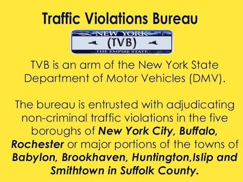 NY Traffic Violations Bureau | Traffic Ticket Information & Solutions |  Attorney Michael Spevack