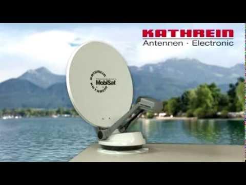 Montage Einer Megasat Satellitenanlage Auf Dem Wohnmobil
