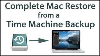 Restore a Mac Hard Drive from a Time Machine Backup