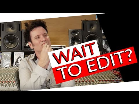 When should you stop editing and start mixing? | FAQ Friday - Warren Huart: Produce Like A Pro