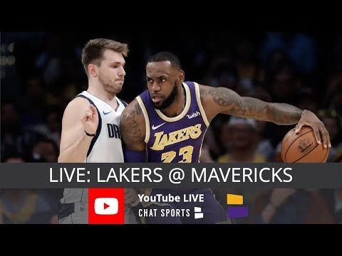 Lakers Vs Mavs Live Streaming Scoreboard Live Chat Lakers 2019 Schedule