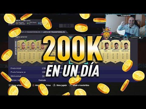 FIFA 21   COMO GANAR 200K EN UN DÍA   TRADEO FUTBIN   ALKE78