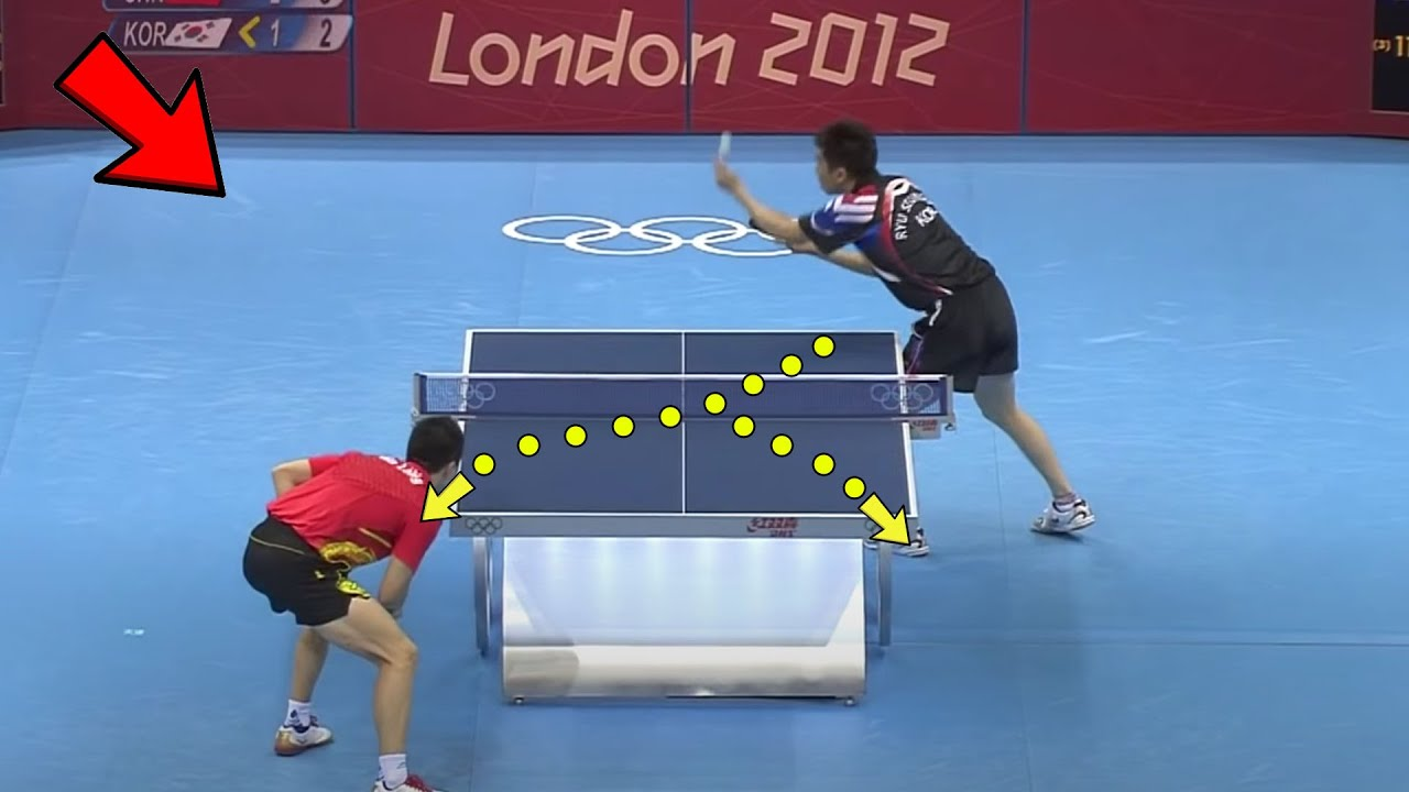 Download Smart & Creative Serves in Table Tennis l Highest IQ Moments [HD]