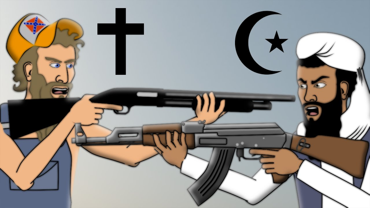 radicalized muslims conflict with the west