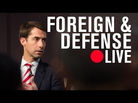 Renewing American strength abroad: A conversation with Senator Tom Cotton   LIVE STREAM