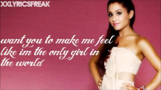 Ariana Grande-Only Girl In The World (Lyrics Video)