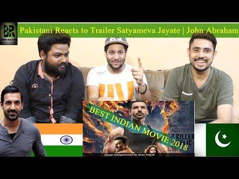 Pakistani Reacts to Satyameva Jayate Official Trailer | John Abraham | Manoj Bajpayee | Aisha S
