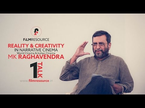 FilmResource Talk 1 by MK Raghavendra