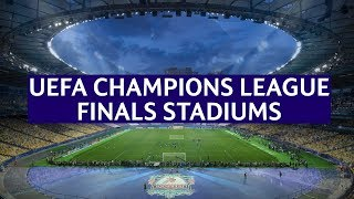 UEFA Champions League Finals Stadiums (1956-2020)