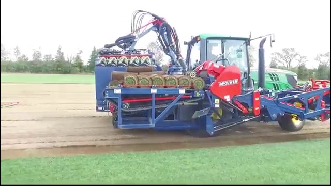 Brouwer RoboMax JD Sod Harvester - Back Out Pallet Drop by kesmacinc
