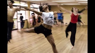 Aerobics Dance to lose fat belly fast