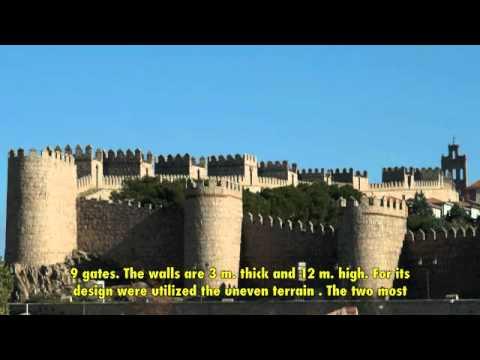 Spain: Avila medieval city walls