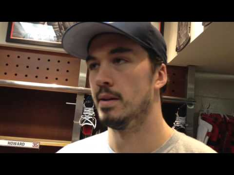 Red Wings' Jonathan Ericsson updates his condition and status
