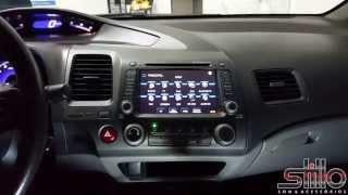 Central Multimídia CASKA Honda New Civic