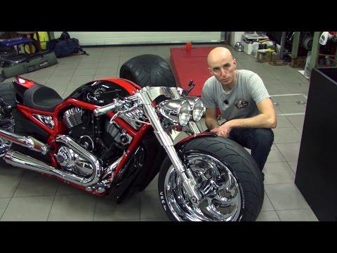 Bike Motors - Supercharged Harley-Davidson V-Rod
