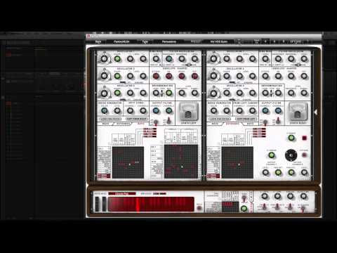 Xils Lab VCS4 VST EMS synth plugin In Maschine 2
