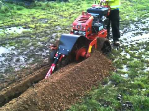 Rt12 Trencher Video Mpg Youtube
