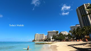 [HAWAII TV] 4K Waikiki/ Living in Hawaii - Waikiki  walking  [ハワイTV] ワイキキ/ハワイの今