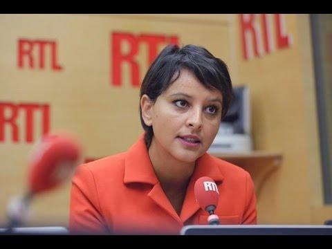 """Démission d'Emmanuel Macron : Najat Vallaud-Belkacem est """"très dubitative"""" - RTL - RTL"""