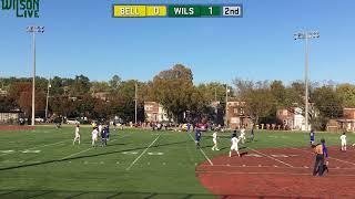 Wilson Boys Varsity Soccer vs. Bell