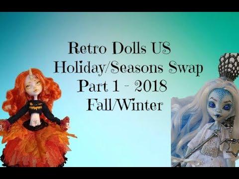 Retro Dolls US HolidaySeasons Swap 2018 Pt. 1