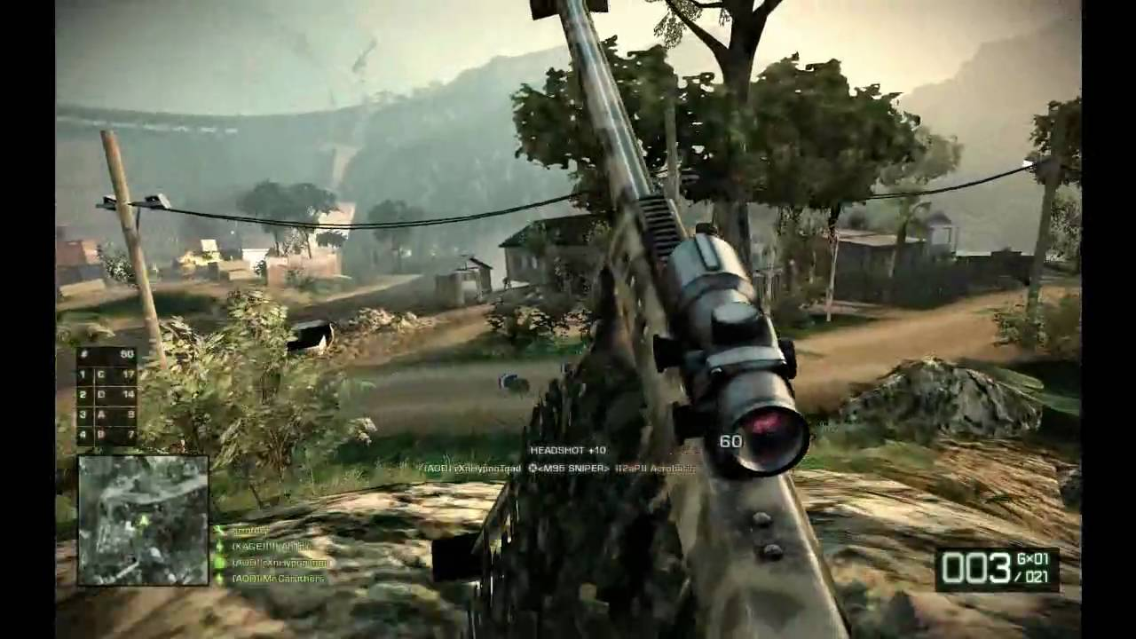 battlefield bad company 2 m95 sniper pc 1 youtube