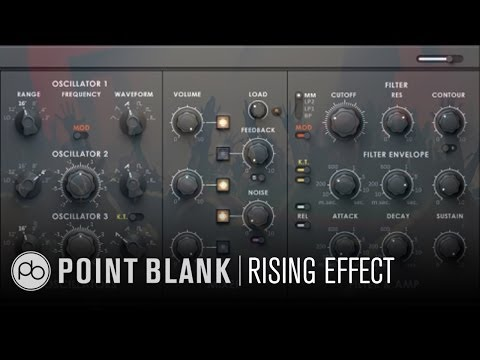 Native Instruments Sound Design: Creating a Rise Effect Using Monark