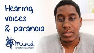 Hearing voices, paranoia and schizophrenia   Miles' #mentalhealthselfie