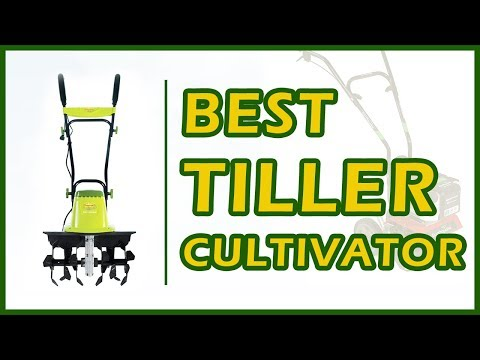 6 Best Tiller Cultivator For Garden And Lawn Care Reviews 2018