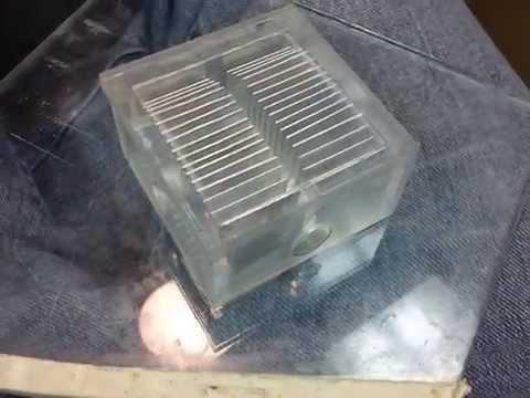 Homemade GPU Water Block