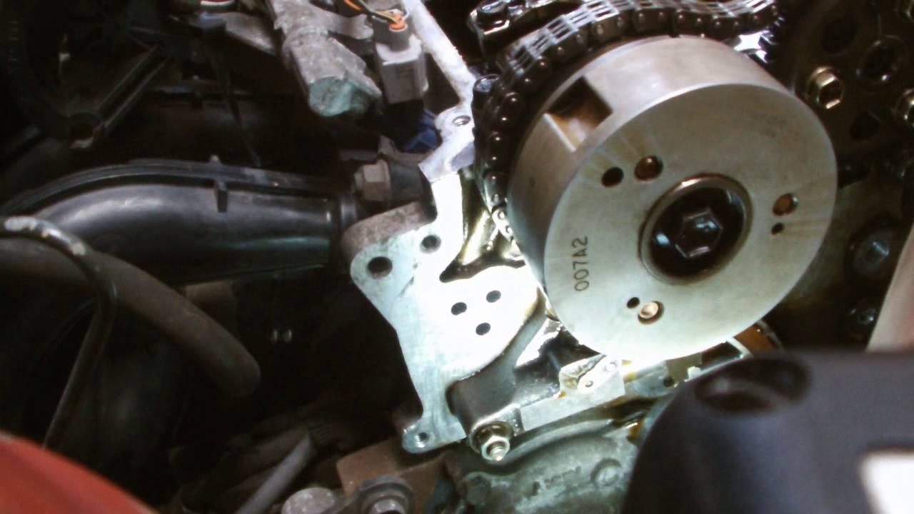 Totota engine repair, timing chain replacment vvti