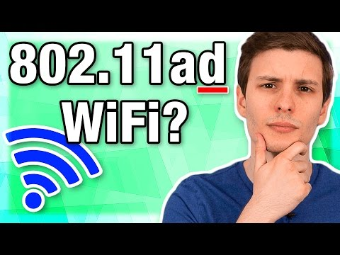 802.11ad - New Fastest WiFi Standard?