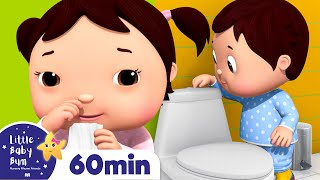 Bathroom Song | Wash Your Hands  + More Nursery Rhymes & Kids Songs | Little Baby Bum