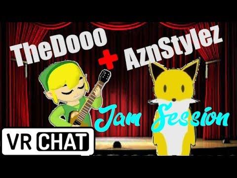 TheDooo & AznStylez VRChat Jam Session