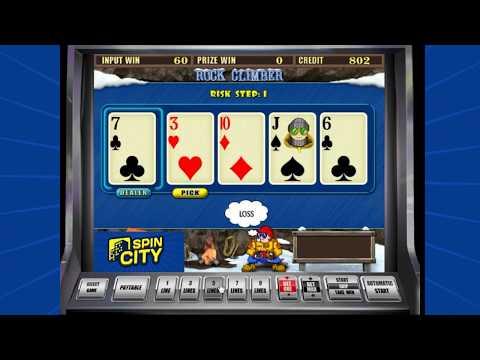 Spin City - Игровой автомат Rock Climber (Скалолаз, Веревки)
