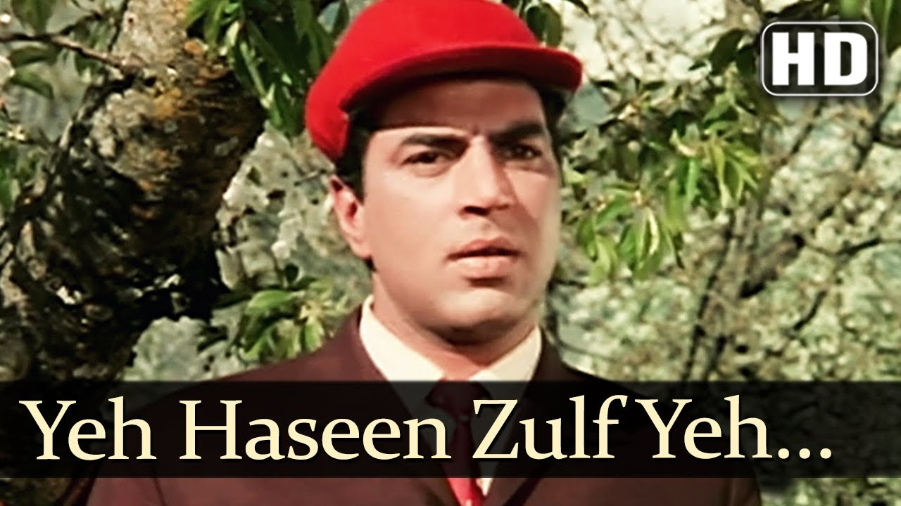 Download Yeh Haseen Zulf (HD) - Kaajal Songs - Meena Kumari - Raj Kumar - Asha Bhosle