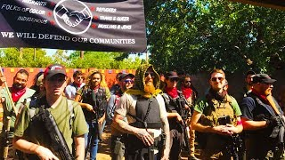 Armed Left-Wing Group Wants To Stamp Out Fascism