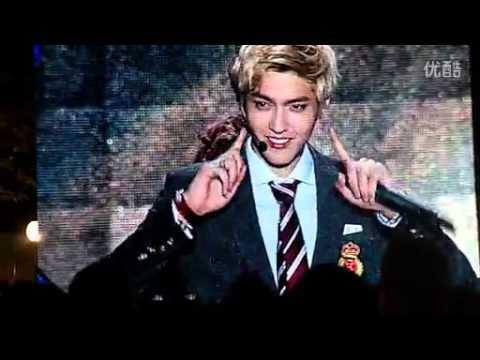 131001 Shanghai West Coast Music Festival - KRIS & EXO Talk + Gwiyomi