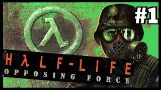 """Прохождение игры Half-Life: Opposing Force (""""Наваждение Шепарда"""") #1"""