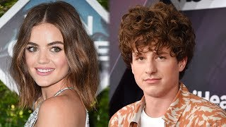 Gambar cover Lucy Hale DENIES Charlie Puth Dating Rumors