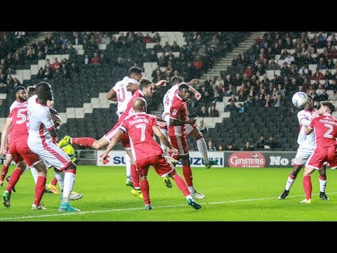 HIGHLIGHTS: MK Dons 1-1 Walsall
