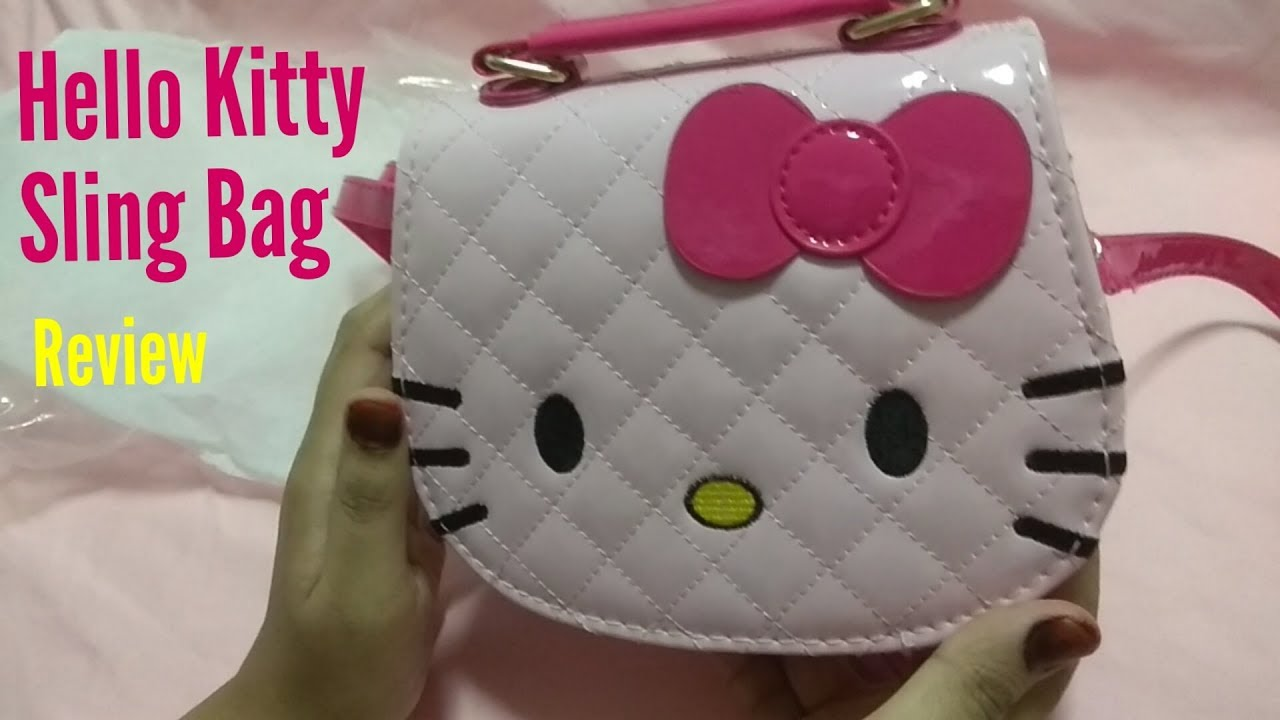 Hello Kitty Sling Bag Review Youtube