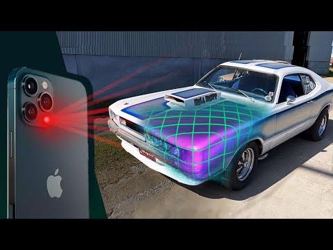 LiDAR Scanner iPhone 12 demo - Instant 3d scans!