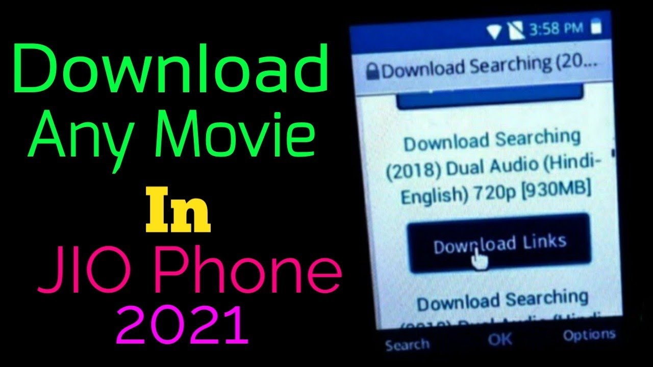 Download How to download any movie on Jio phone || How to use internet of Jio Phone || Hindi ||