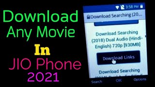 How to download any movie on Jio phone || How to use internet of Jio Phone || Hindi ||