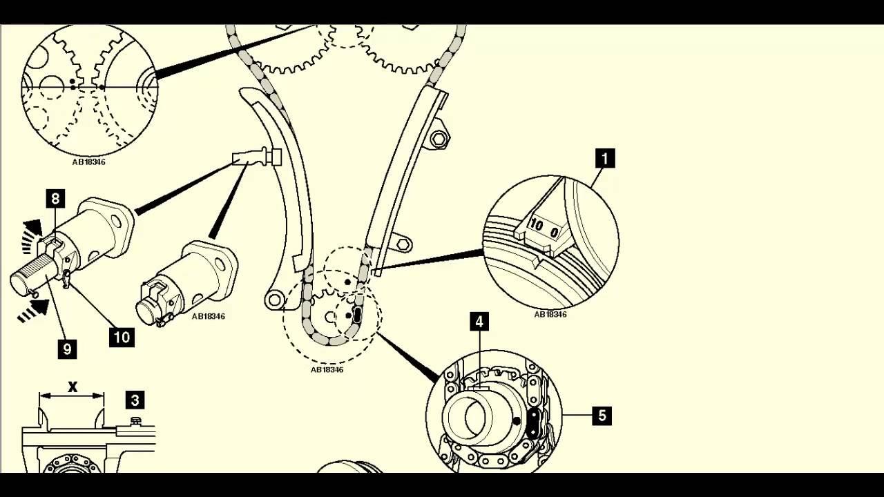 toyota corolla 1 6 2001 04 cadena de distribucion cadena de tiempo tucson colocacion #14