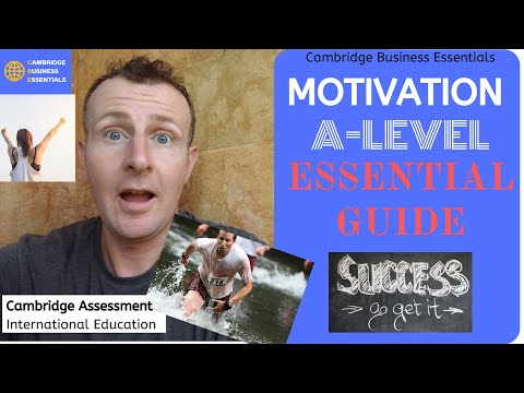 How to Answer Motivation Questions in A-level (AS, A2) Business Cambridge Int CAIE Exams