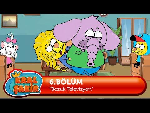 KRAL ŞAKİR: Bozuk Televizyon I 6. Bölüm (Çizgi Film)